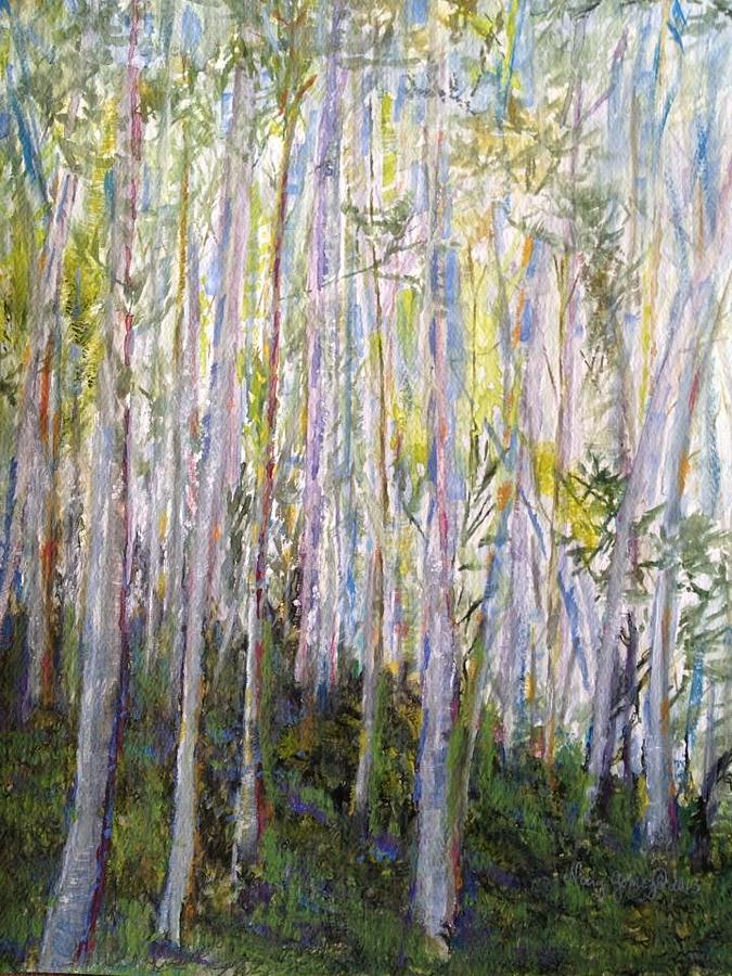 You Cant See The Forest For The Trees Painting