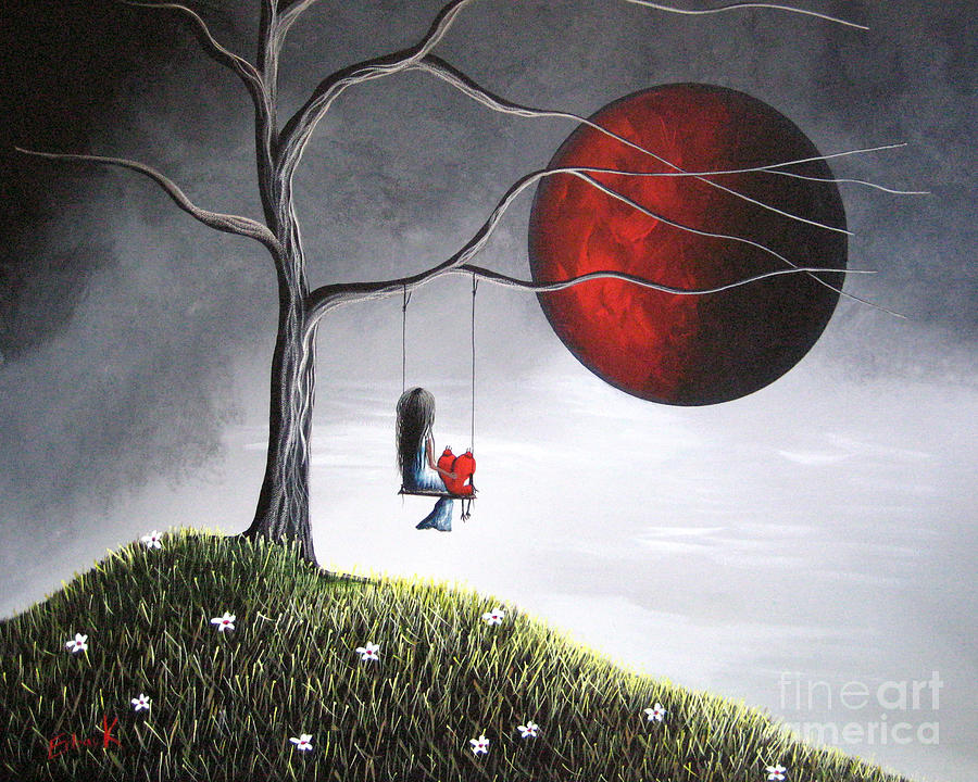 You Would Have Been So Proud Of Her By Shawna Erback Painting