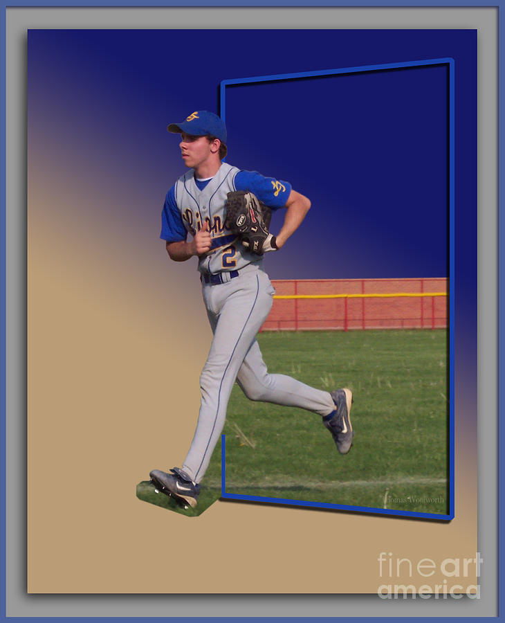 Young Baseball Athlete Photograph  - Young Baseball Athlete Fine Art Print