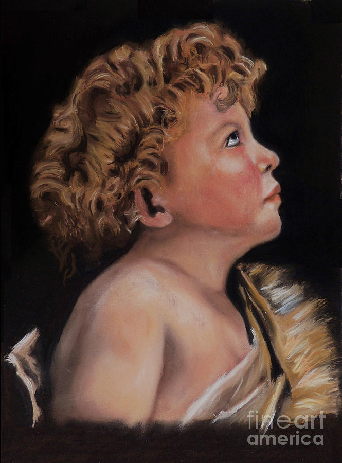 Young John The Baptist  Painting
