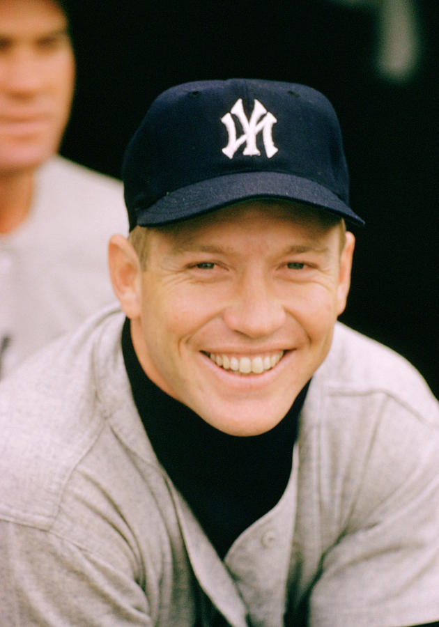 Marvin Newman Photograph - Mickey Mantle Smile by Retro Images Archive