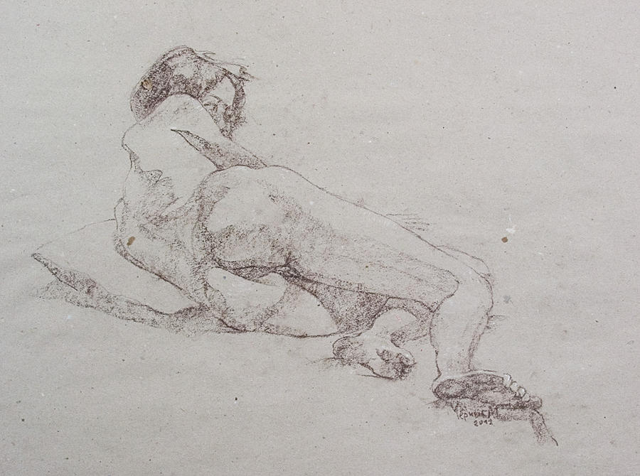Young Model Drawing