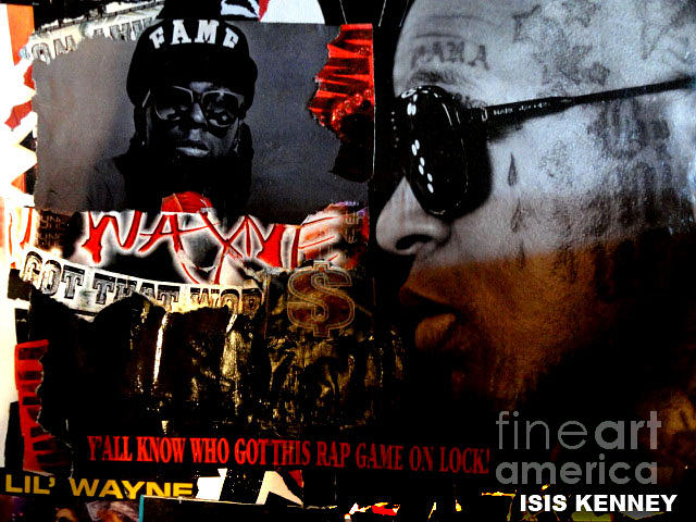 Young Money The Plot Lil Wayne Tribute Mixed Media