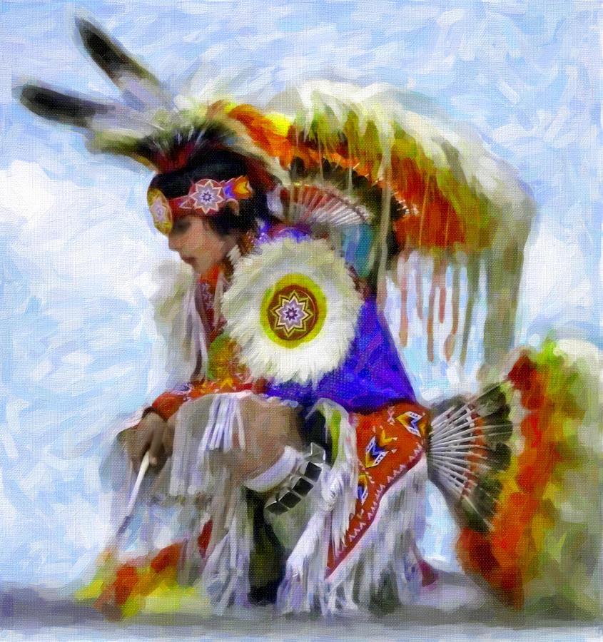 Native American Pow WoW Clip Art
