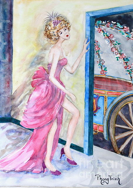 Your Carriage Has Arrived Painting