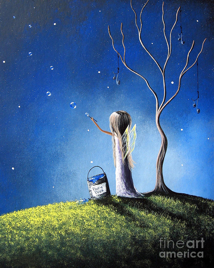 Your Wish Comes True Tonight By Shawna Erback Painting