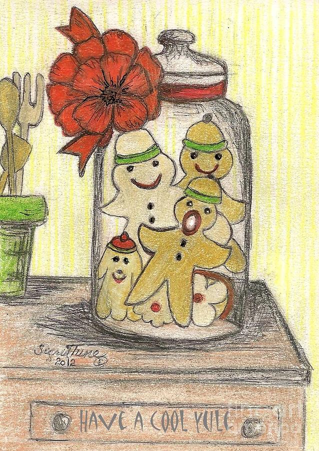 Yule Cookie Anxiety Drawing
