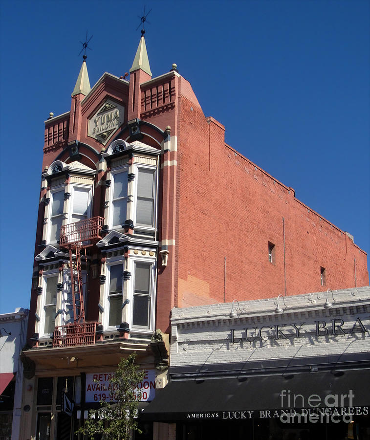 Yuma Building In San Diego Photograph  - Yuma Building In San Diego Fine Art Print