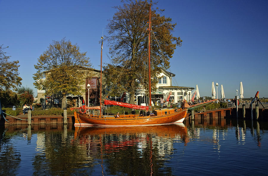 Zingst Germany  City pictures : Zees Boat At Zingst Germany by David Davies
