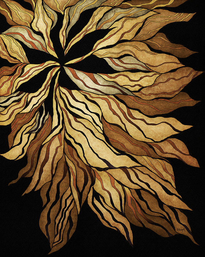 Zen Blossom Painting