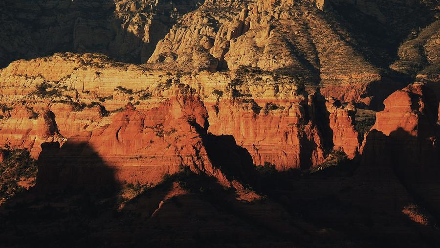 Beautiful Red Rocks At Sunset In Sedona Photograph - Zen Moment In Sedona by Todd Sherlock