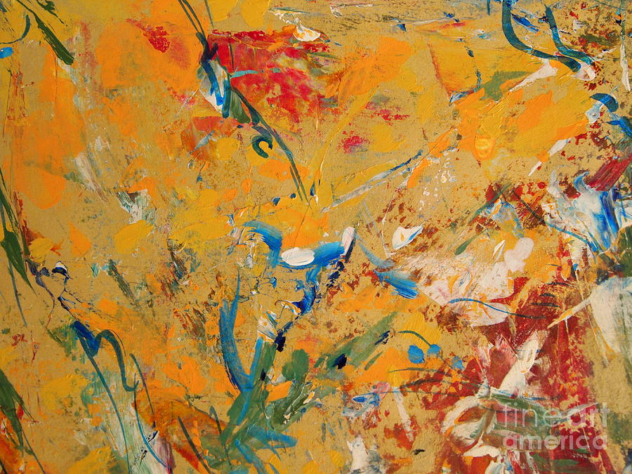 Acrylic Painting Painting - Zen  by Nancy Kane Chapman