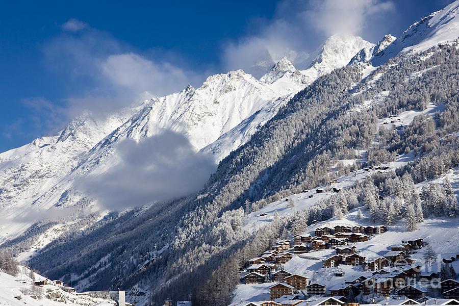 Zermatt Mountains Photograph