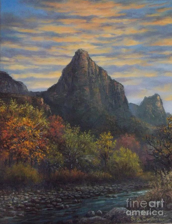 Zion Canyon Painting