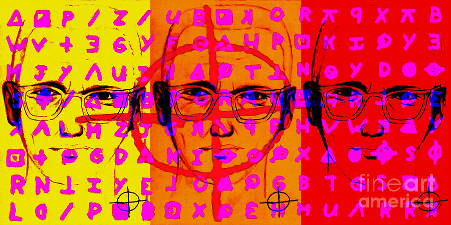 Zodiac Killer Three With Code And Sign 20130213 Photograph