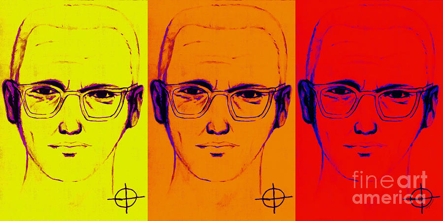Zodiac Killer Three With Sign 20130213 Photograph  - Zodiac Killer Three With Sign 20130213 Fine Art Print