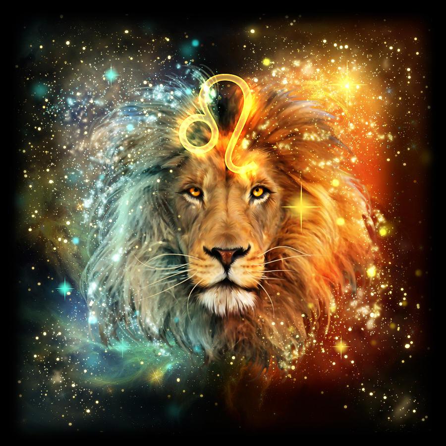 Zodiac Leo Painting By Ciro Marchetti