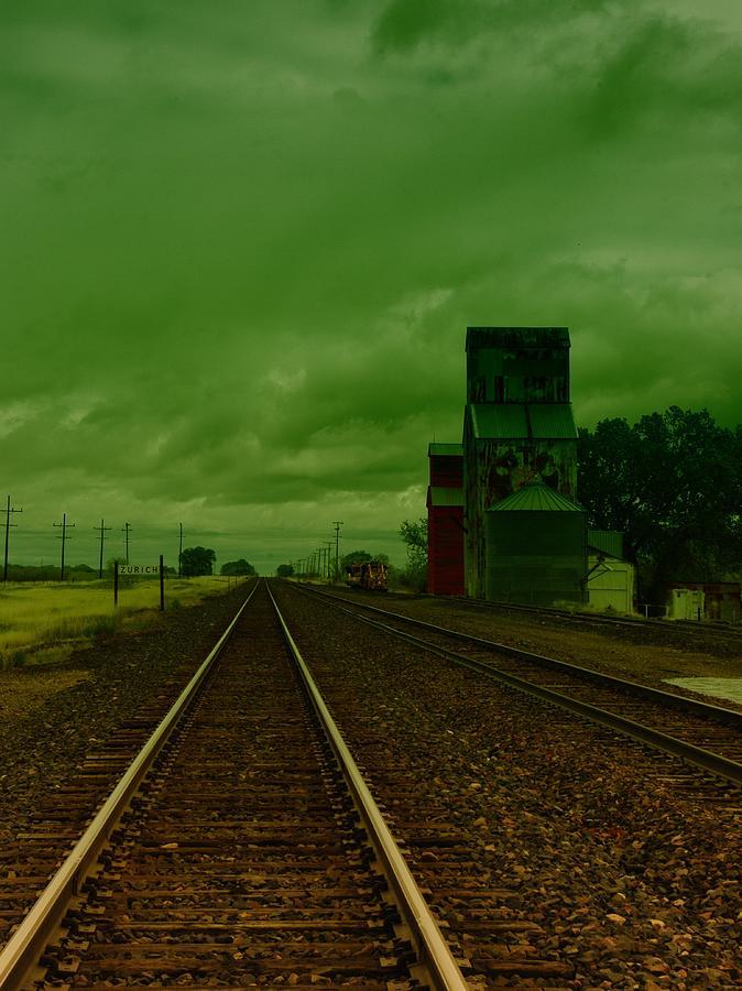 Trains Photograph - Zurich Montana by Jeff Swan