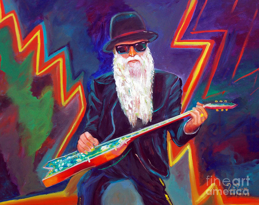 Autism Painting - Zz Top 3 by To-Tam Gerwe