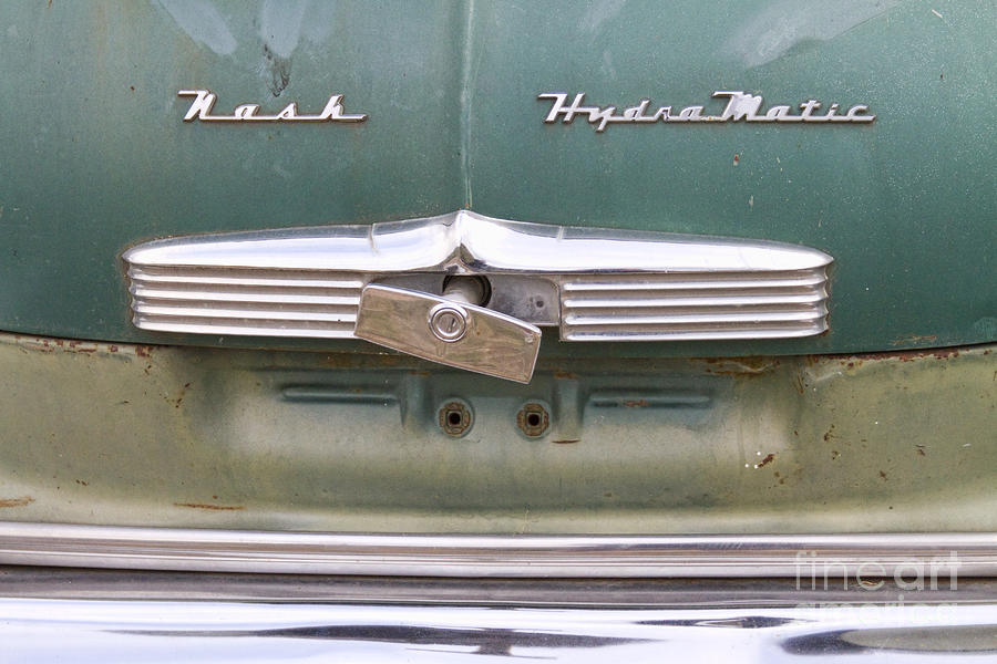 1951 Nash Ambassador Hydramatic Back Photograph