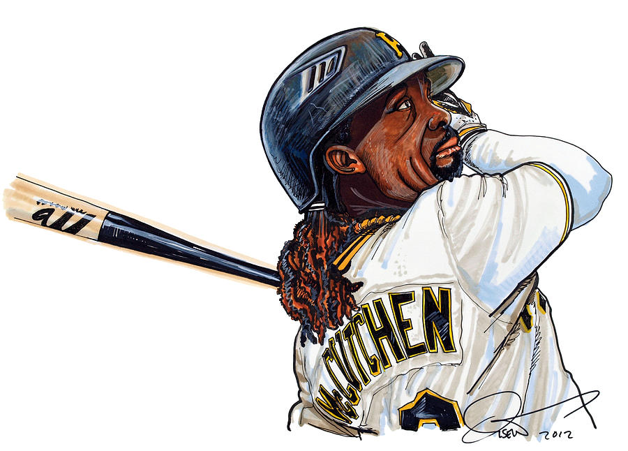 Andrew Mccutchen Drawing  -  Andrew Mccutchen Fine Art Print