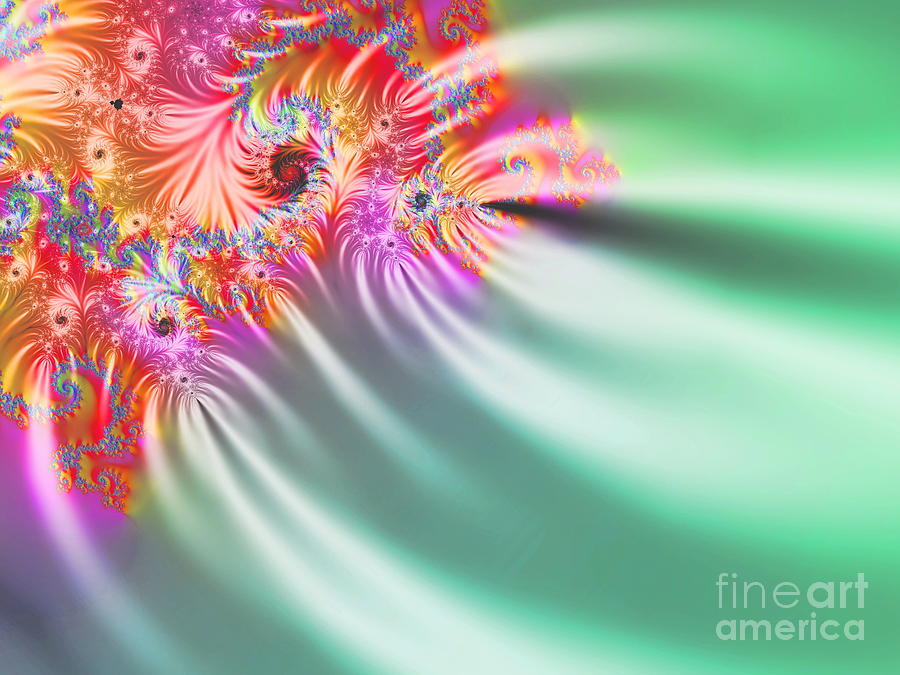  Aurora Color Dreams Digital Art  -  Aurora Color Dreams Fine Art Print