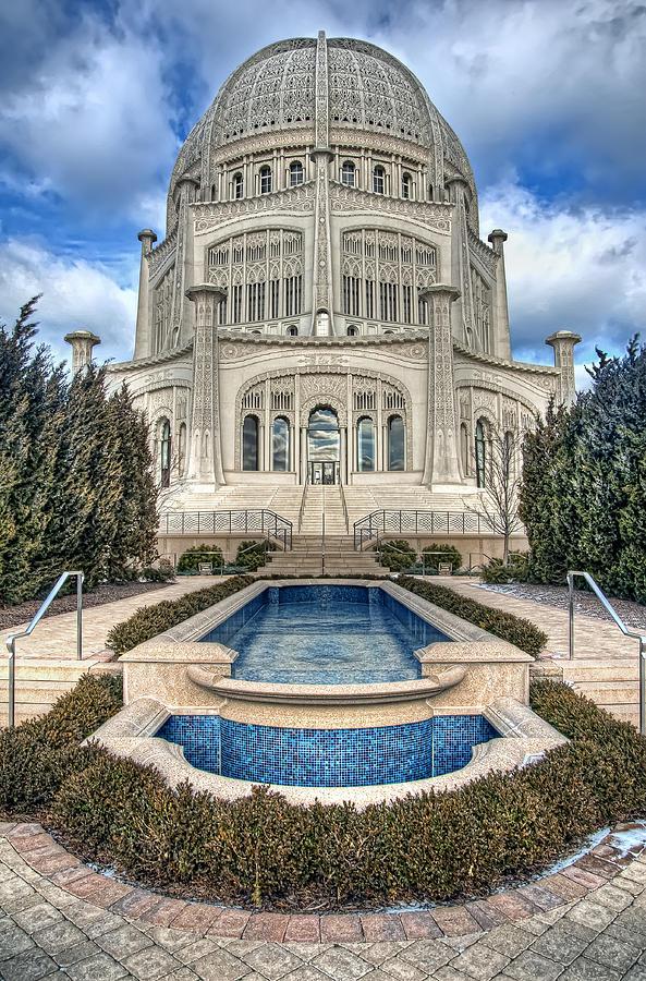 Bahai Temple Photograph