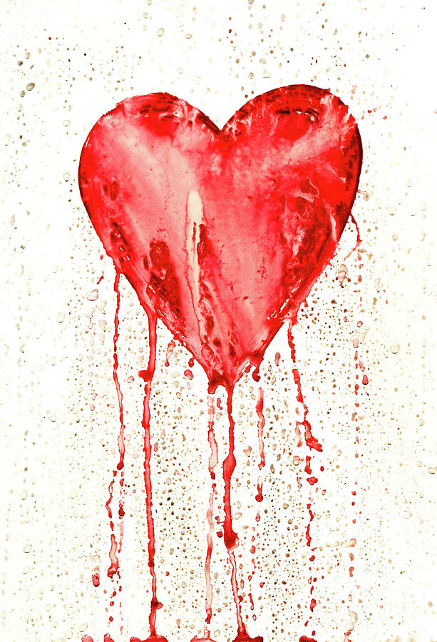 Broken Heart - Bleeding Heart by Michal Boubin