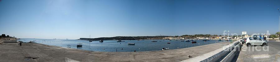 Bugibba Harbour Malta Photograph