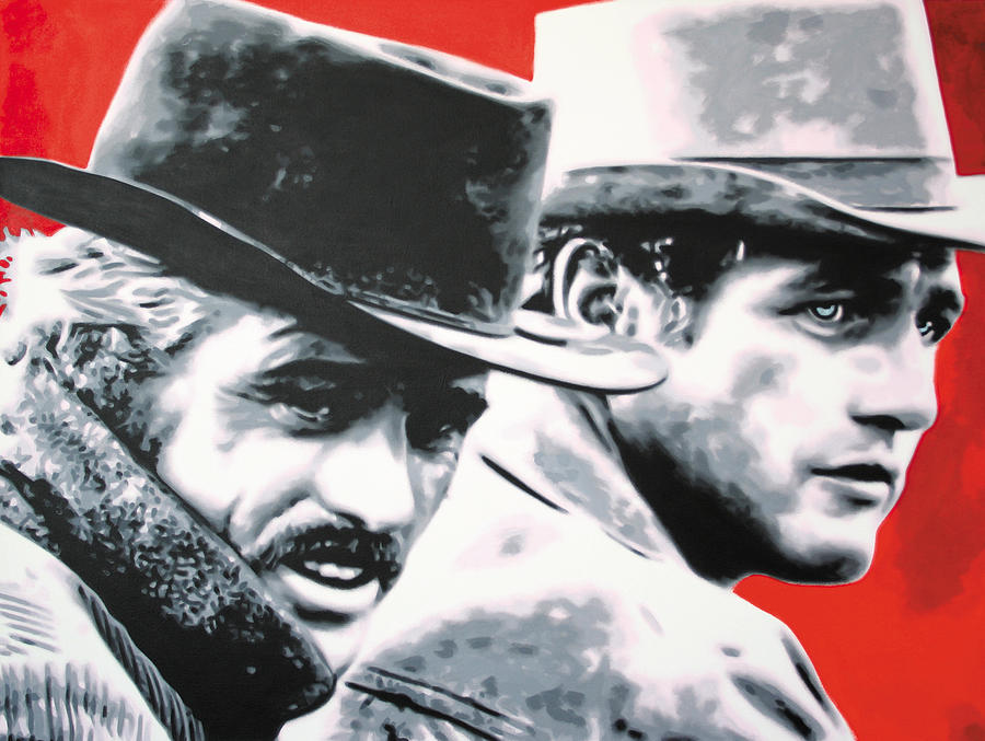 - Butch Cassidy And The Sundance Kid - Painting