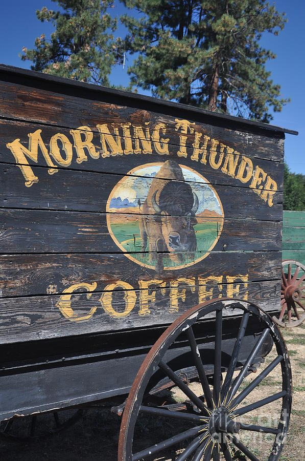 Coffee Wagon Photograph  -  Coffee Wagon Fine Art Print