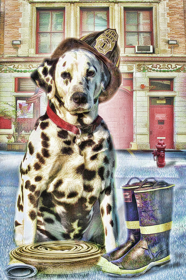 Firemans Friend Digital Art