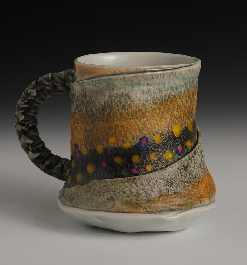 Fish Mug Sculpture -  Fish Mug by Mark Chuck