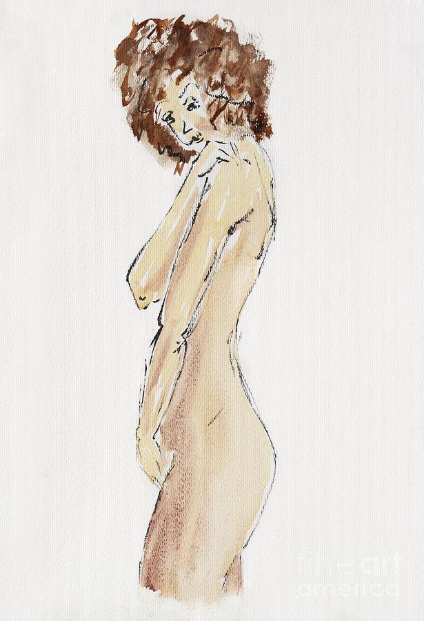Flirtatious Drawing
