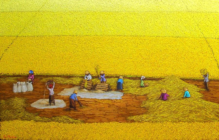 Harvest 17 Painting