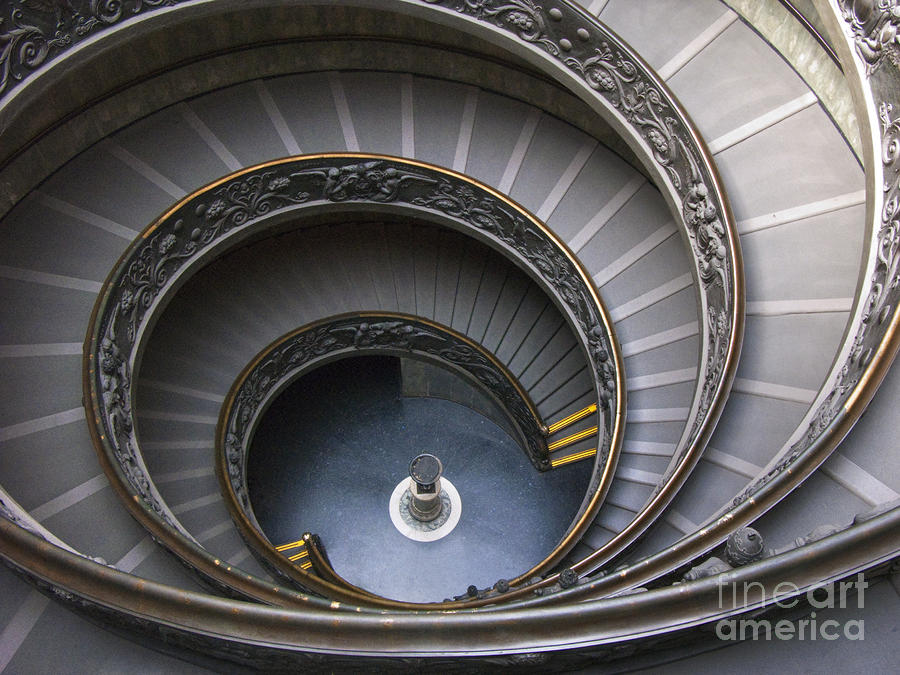 Heart Of The Vatican Museum Photograph