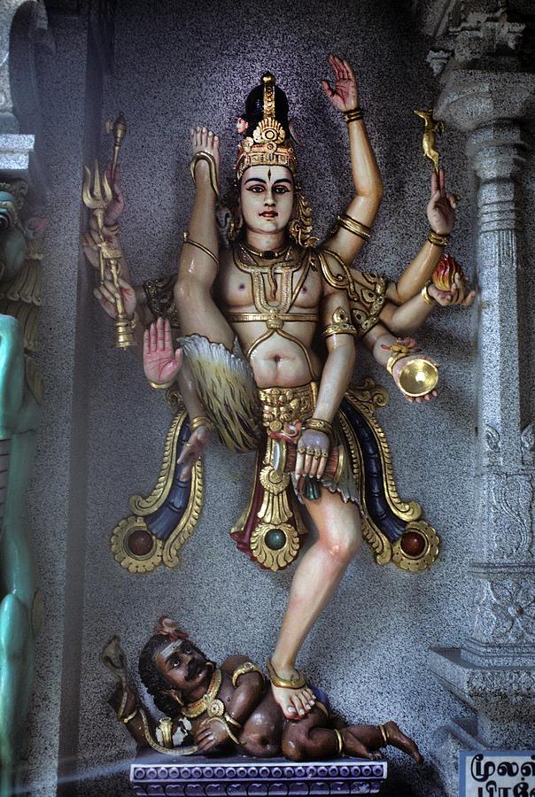 Hindu God Kali Photograph