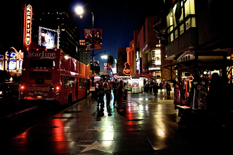 Hollywood Blvd. Photograph