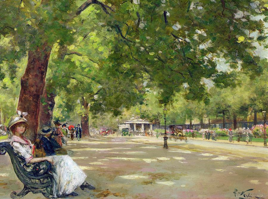 Hyde Park - London Painting