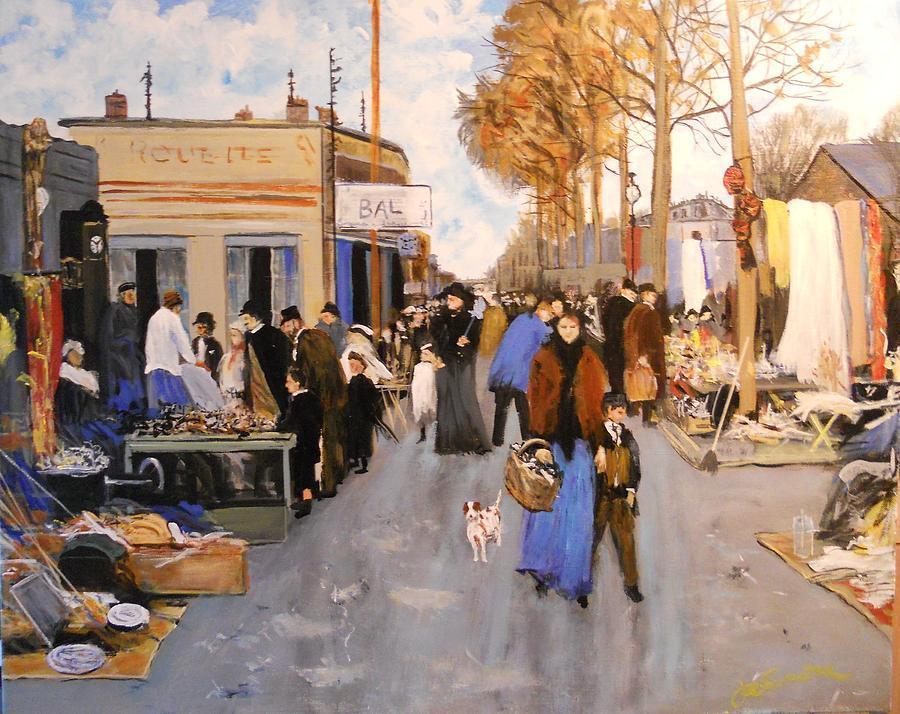 Le marche au puces st ouen paris by joseph simone - Marche au puce paris vetement ...