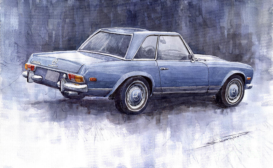 Mercedes Benz 280 Sl W113 Pagoda  Painting