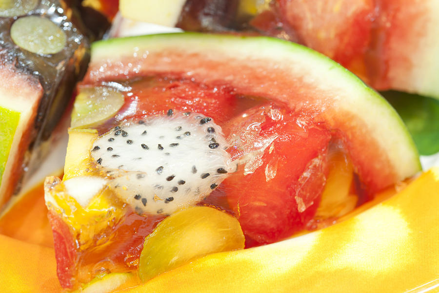 Mixed Fruit Watermelon Photograph