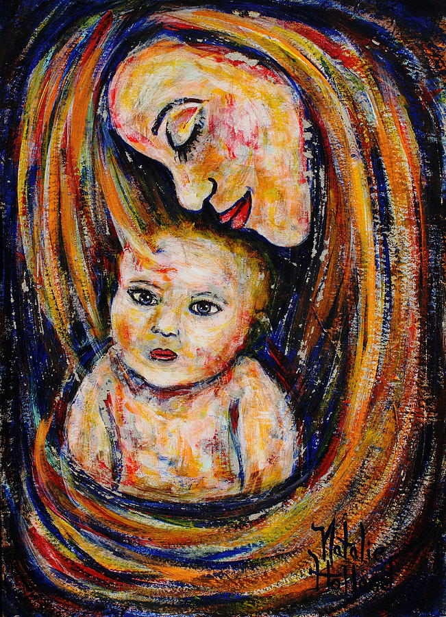 Mothers Love Painting  -  Mothers Love Fine Art Print