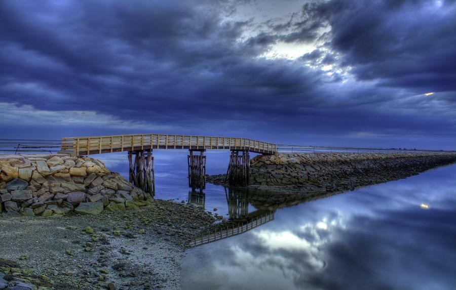 Plymouth Jetty Bridge by Jack Costello