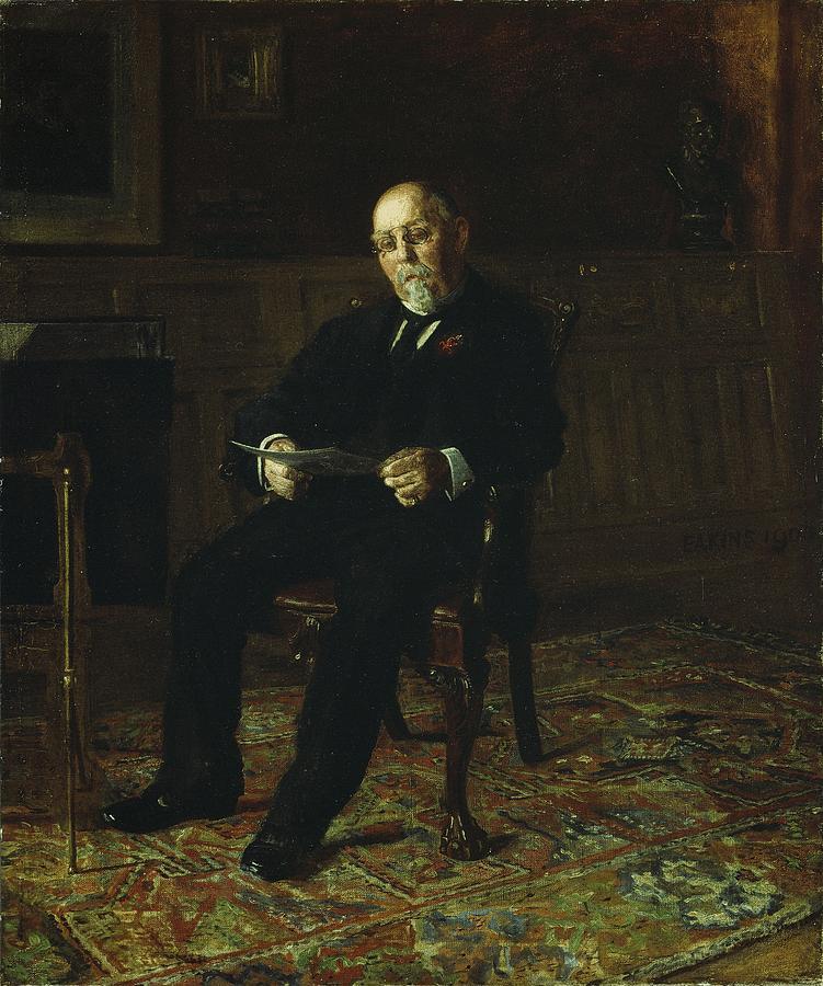 Robert M. Lindsay Painting