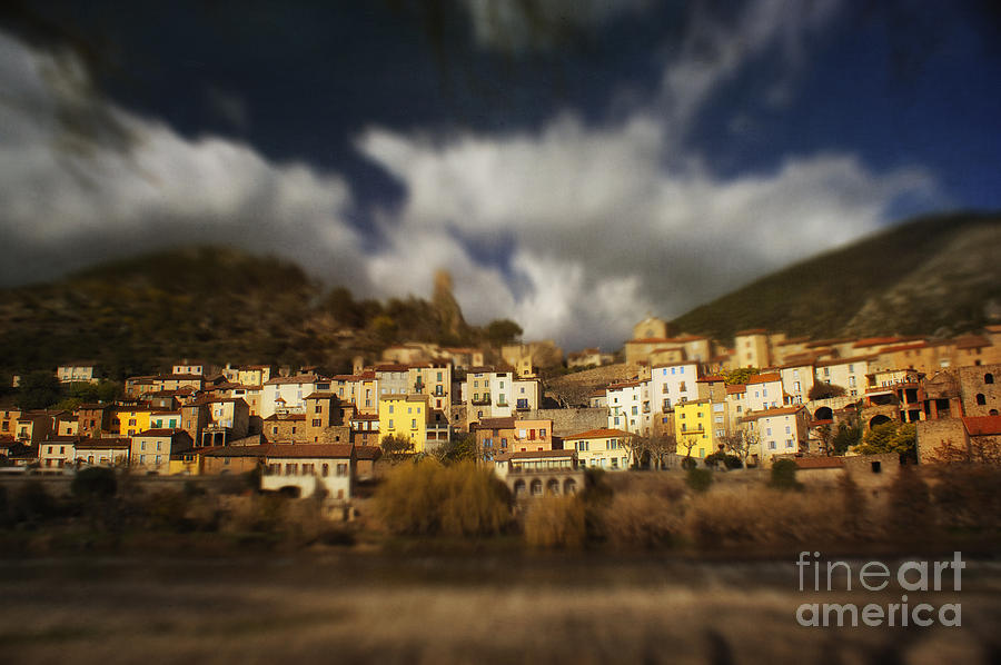 Roquebrun Photograph
