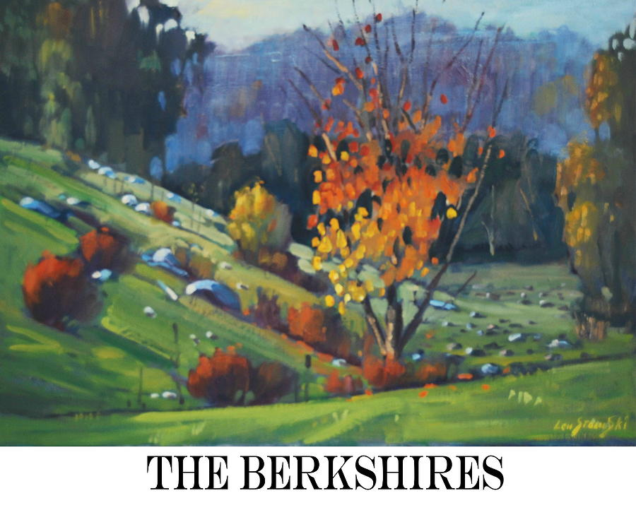 The Berkshires Painting By Len Stomski