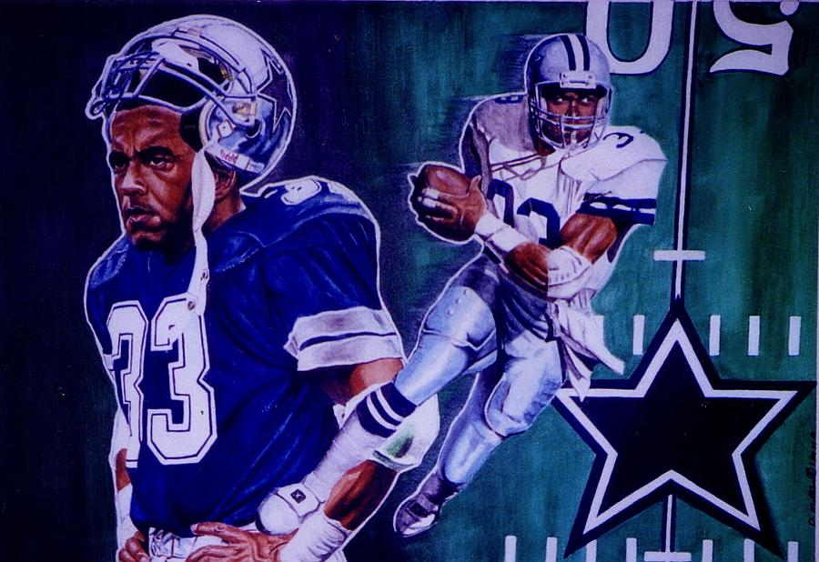 Tony Dorsett Painting