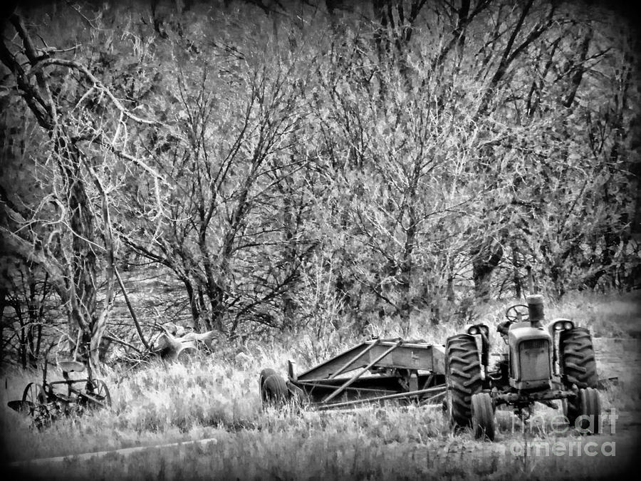 Tractor Photograph -  Tractor Days by Michelle Frizzell-Thompson