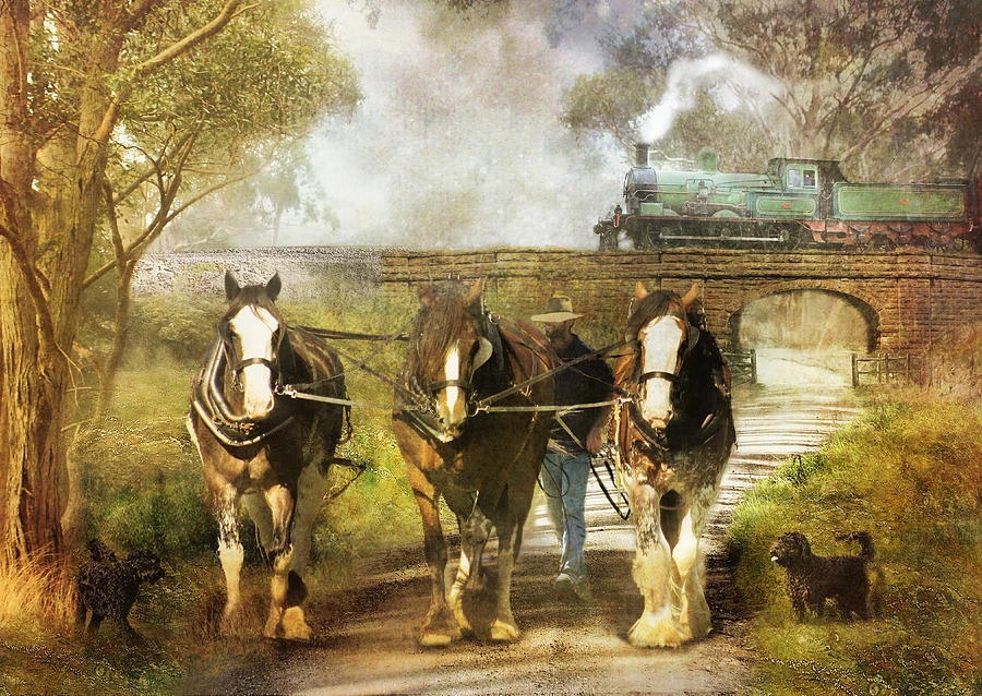 Under Our Own Steam Photograph  -  Under Our Own Steam Fine Art Print